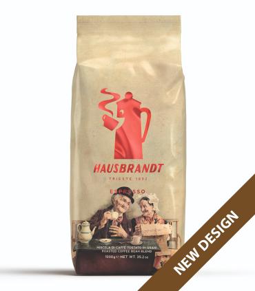 Hausbrandt Espresso Nonnetti zrnková káva 1kg - nový design