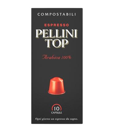 PELLINI TOP Arabica 100%  pro Nespresso 10ks