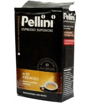 Pellini Superiore n°20 Cremoso 250g mletá káva