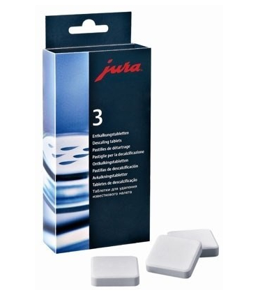 Tablety na odvápění JURA 9ks