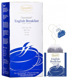 Ronnefeldt Teavelope English Breakfast porcovaný čaj 25 x 1,5g