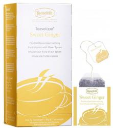 Ronnefeldt Teavelope Sweet Ginger porcovaný čaj 25 x 1,5g