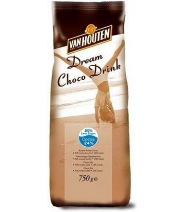 Van Houten Less Sugar 750g