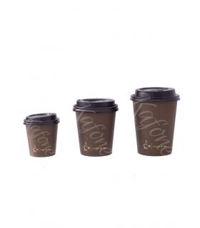 Kelímky na kávu 100ks