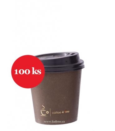 Kelímky na kávu 100ks 100ml