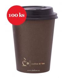 Kelímky na kávu 100ks 300ml