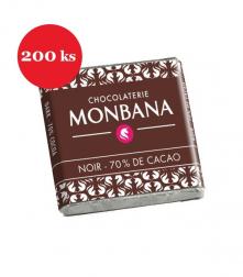 Čokoláda ke kávě hořká 200 × 4 g