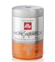 Illy Monoarabica Ethiopia zrIlly Monoarabica Ethiopia zrnková káva v dózenková káva v dóze