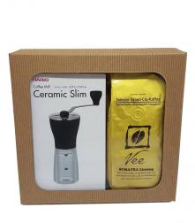 Dárkové balení HARIO Mini Mill + 2x Vee Kaffe