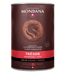 Čokoláda Monbana Trésor de Chocolat 1000g
