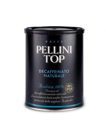 Káva Pellini TOP Decaffeinato 250g mletá káva