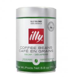 Káva Illy Espresso zrnková káva bez kofeinu 250g