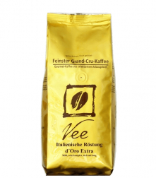Vee's Espresso d'ORO EXTRA zrnková káva 250g