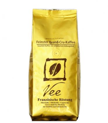 Vee's Francouzské pražení zrnková káva 250g