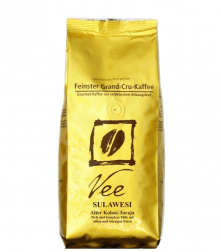 Indonésie Kalosi Toraja zrnková káva 250g