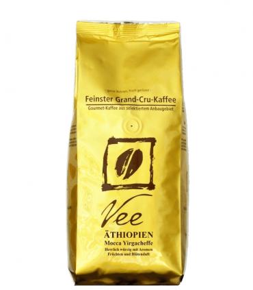 Vee's Etiopie Mocca Yirgacheffe zrnková káva 250g