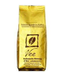 Vee's Espresso d'ORO zrnková káva bez kofeinu 250g