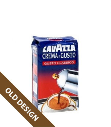 Lavazza Crema e Gusto mletá káva 250g