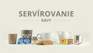 Servírovanie kávy