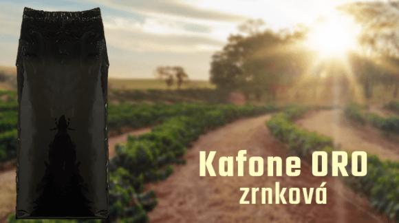 Kafone ORO je vynikající směs, která zaujme kvalitou a příznivou cenou